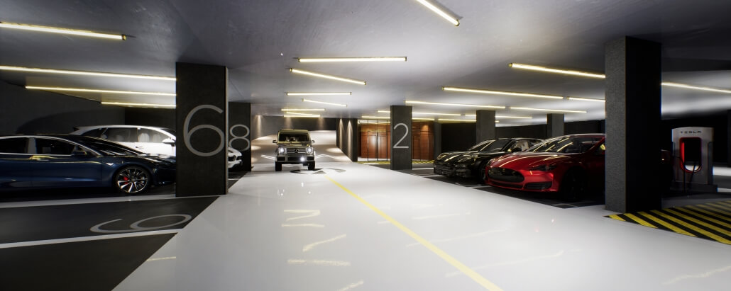 Long term parking marbella