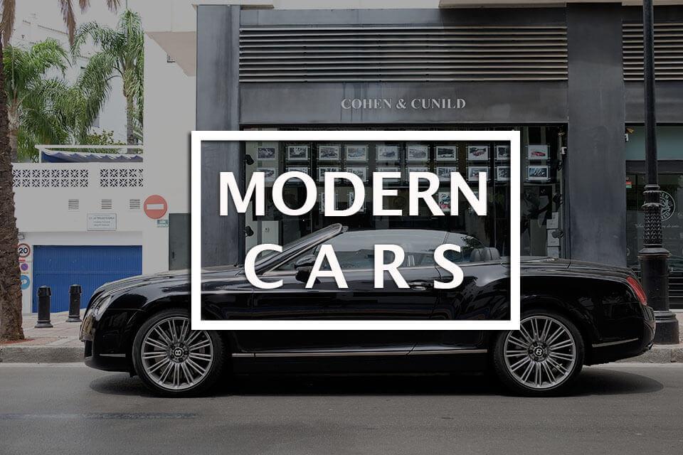 modern cars